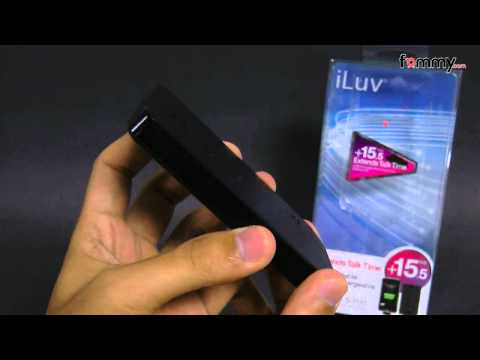 iLuv� 2200mAh Portable Back-Up Battery Pack