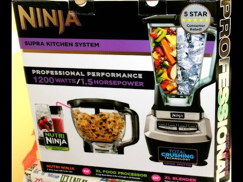 Ninja Blender Review- Mega Kitchen System Blender 1200 watts