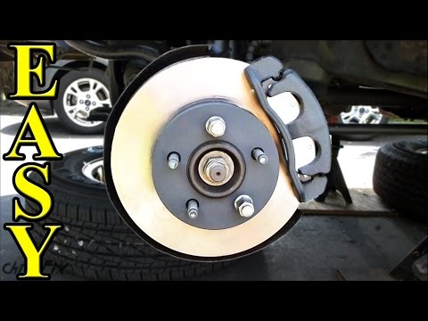 How to Replace Front Brakes. Pads and Rotors