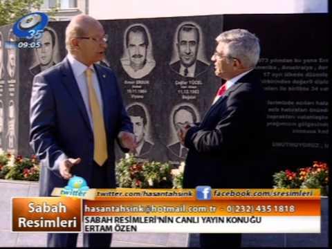 SABAH RESİMLERİ'NİN İLK STÜDYO DIŞI YAYINI KARŞIYAKA 12 NİSAN 2013 KANAL 35 TV
