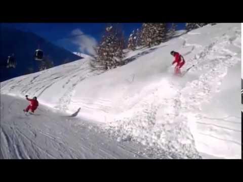 Tiefschneeabfahrten Discese in neve fresca