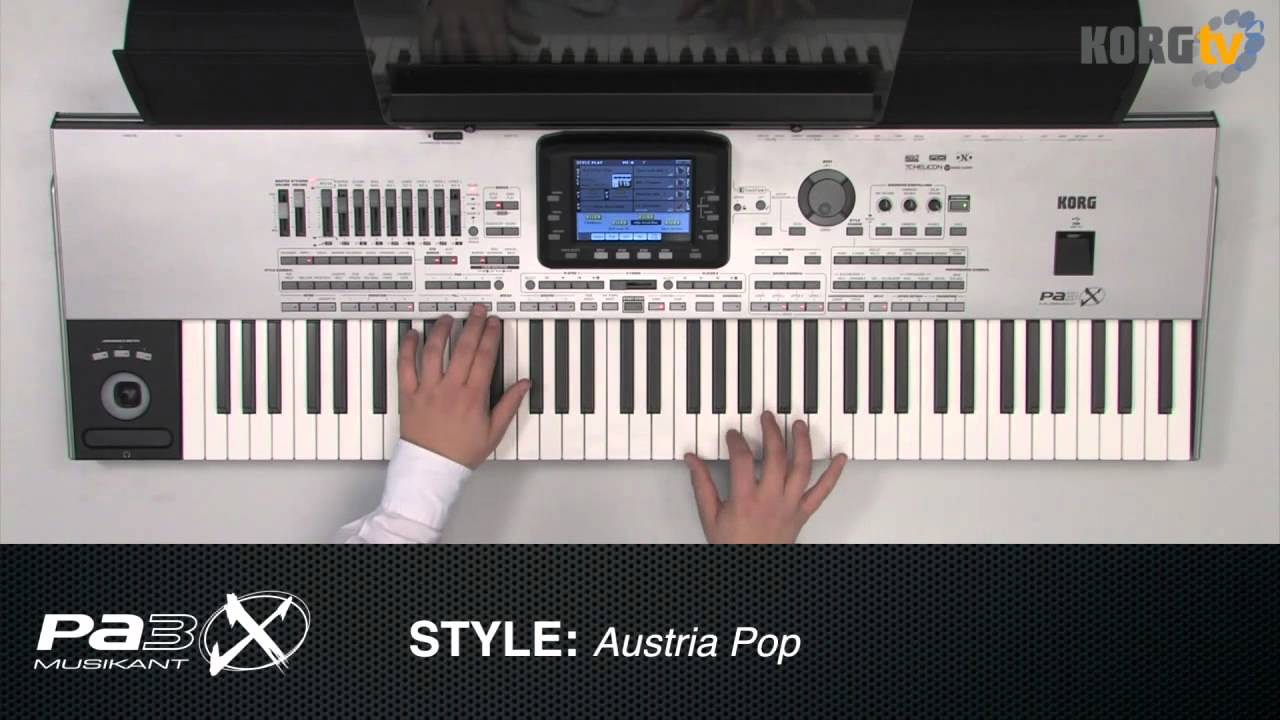 Tv pa3x musikant schlager party disco modern style demo