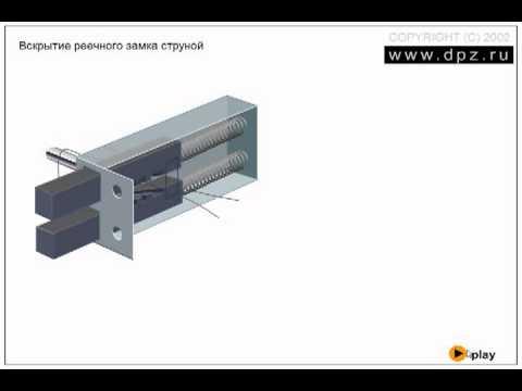 Методика взлома сувальдных замков с помощью отмычек. принцип работы декодер