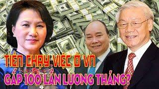Chi phí chạy việc ở Việt Nam gấp 100 lần tiền lương 1 tháng