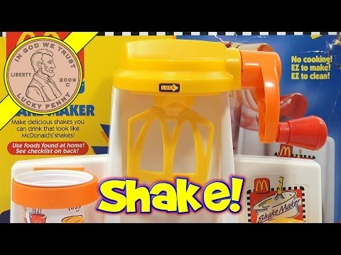 McDonald's Happy Meal Magic Shake Maker Set. 1993 Mattel Toys (Fun Recipes)