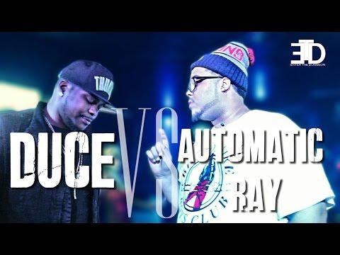 ETD RAP BATTLE | Duce vs Automatic Ray  - @EtdBattleleague @2uce813 @Automaticray