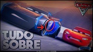 Carros 3: PRIMEIRO TRAILER + 2 Novos Personagens,  Easter-Eggs e Muito Mais !!