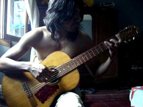 Punteos de Guitarra :Edgardo Flores Canción Mario Bros. .wmv