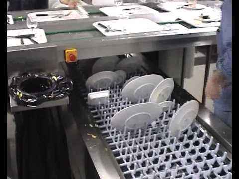 COMENDA COMMERCIAL DISHWASHERS: INSTALLATION WITH DOUBLE POLYCORD BELT