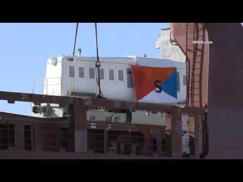 Whitcomb locomotive to Netherlands Museum WISN coverage