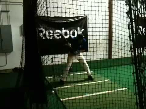 Skyler Anderson Class of 2015 SS,3B,P #11 Boyd Buchanan School Chattanooga, Tn. Hitting in the Cage2 - 10/04/2012
