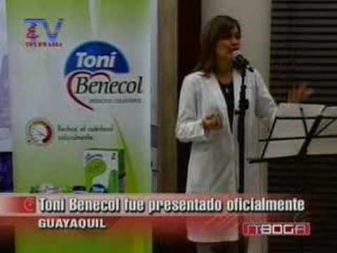 Toni Benecol fue presentado oficialmente