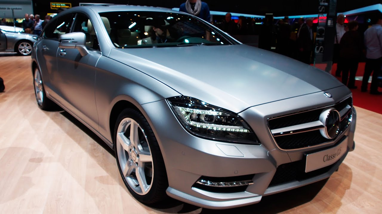 2014 mercedes benz cls 350 cdi 4matic wagon exterior and interior walkaround youtube. Black Bedroom Furniture Sets. Home Design Ideas