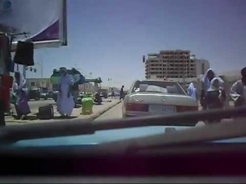 Traverseé de Nouakchott Mauritanie