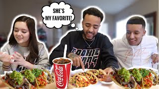 MUKBANG With My SIBLINGS!!! *Argument Starts* (Ft. Lil Jerz & Yung Reece)