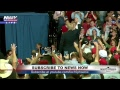 FNN: President Trump #MAGA Rally in Southaven, Mississippi; AZ sees wet weather