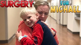 Michael's Surgery || Mommy Monday