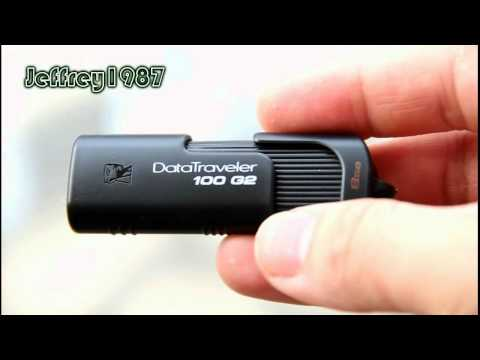 [UNBOXING] Kingston DataTraveler 100 G2 USB Flash Drive