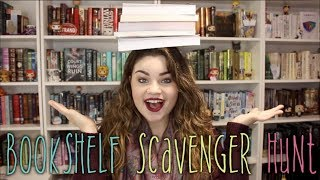 BOOKSHELF SCAVENGER HUNT
