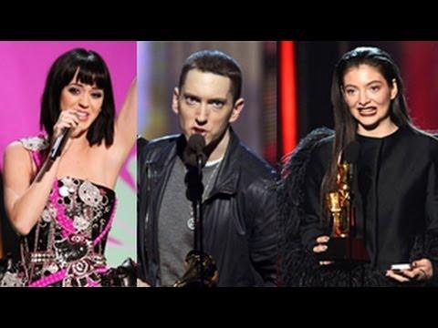 Billboard Music Awards 2014 Winners Complete List -- BBMAs 2014 (Eminem, Miley Cyrus, Lorde)