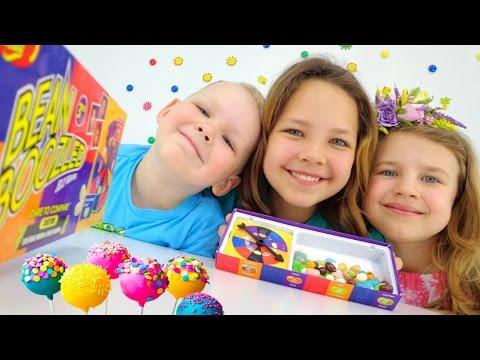 Смешное видео про игрушки. Рулетка для сладостей.