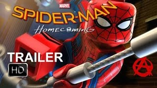 Lego Spiderman Homecoming Trailer (Fan made)
