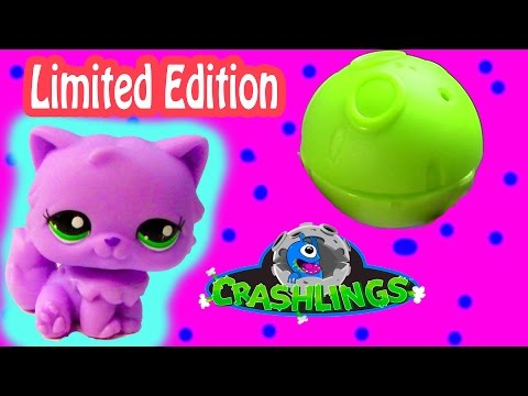Crashling Blind Ball Mystery Surprise Limited Edition RARE Fuzzy Alien Crazy Crasher Toy Review