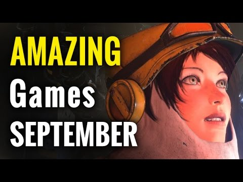 10 Amazing Games for September 2016 | whatoplay monthly