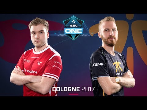 CS:GO - Mousesports vs. Fnatic [Train] - Swiss Round 1 - ESL One Cologne 2017