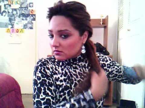 gabytips PEINADO ELEGANTE Y SENCILLO-Elegante hairstyle