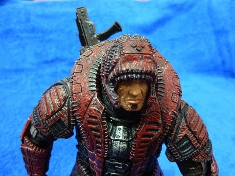 Игрушка солдат Marcus Fenix Gears of War 2  7