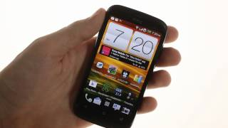 HTC Desire V unboxing & user interface