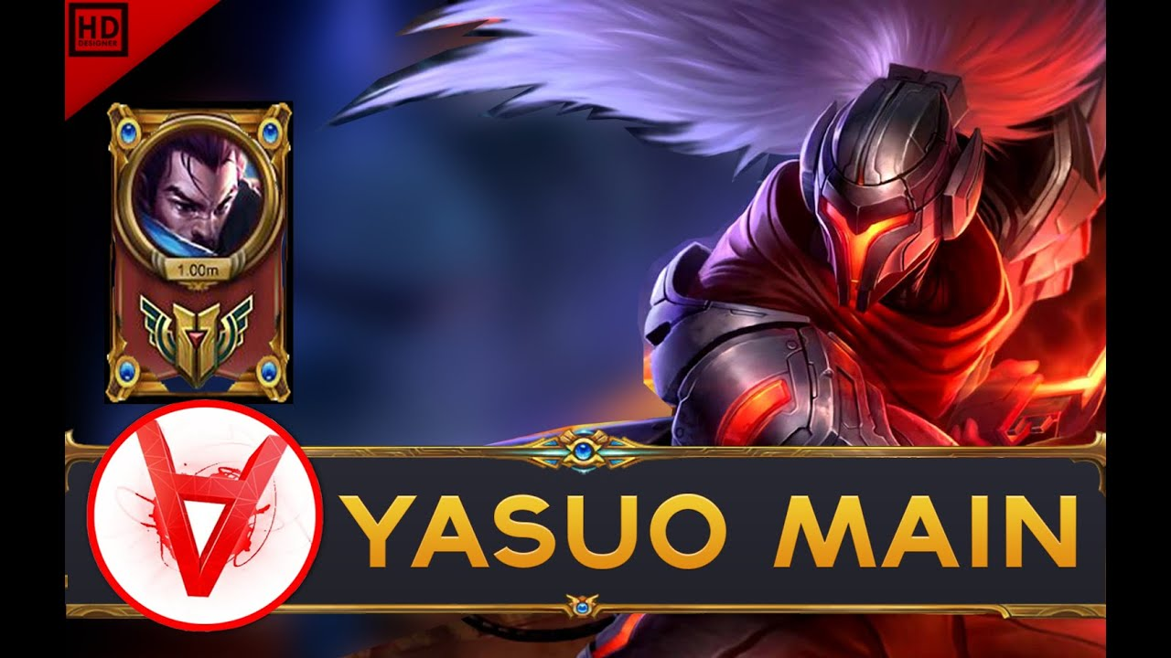 ARKADATA YASUO MAIN Compilation | 1MILLION MASTERY POINTS - league of legends