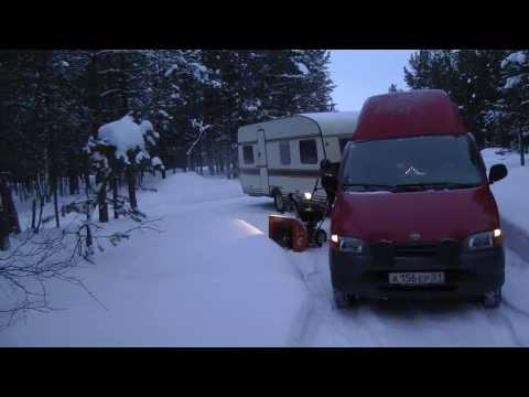 заполярный караванинг, caravaning to north of polar circle