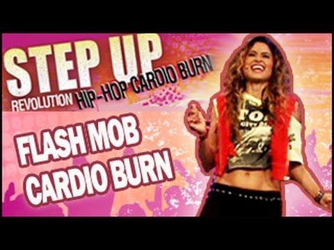 Hip Hop Flash Mob Cardio Burn Dance Workout: Step Up Revolution video