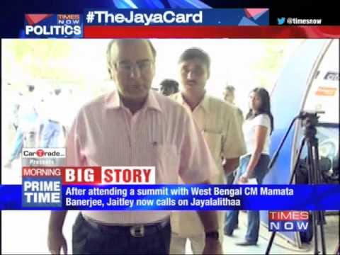 Arun Jaitley Calls On J Jayalalithaa