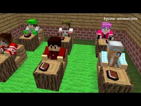 Love Story: Диллерон и Миникотик (Minecraft Мультики)