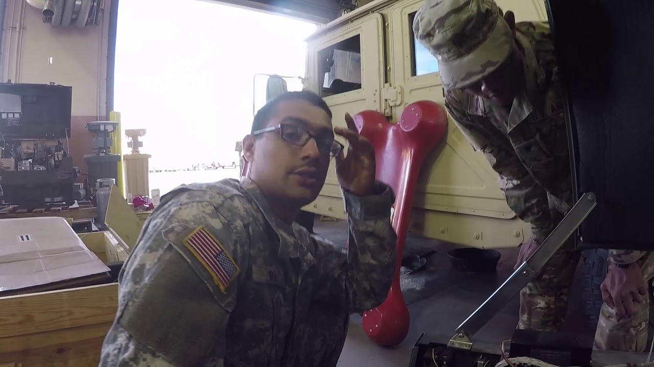 Master Sgt. Lauren Phillips, Senior Maintenance Supervisor, and Chief Warrant Officer Catarius Anderson Battalion Maintenance Officer of the 98th Expeditionary Signal Battalion discuss how they increased equipment utilization to get their unit ready to deploy if called upon. (U.S. Army Reserve video by Master Sgt. Anthony Florence)