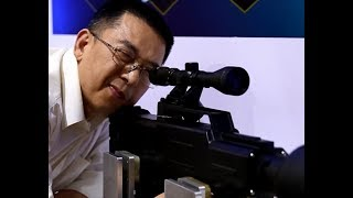 Meet high-energy weapon of hot-shot lasgun | CCTV English