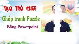 Tạo trò chơi ghép tranh Puzzle trong Powerpoint như thế nào