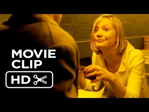 The Double Movie CLIP - Creepy Guy (2014) - Mia Wasikowska Thriller HD