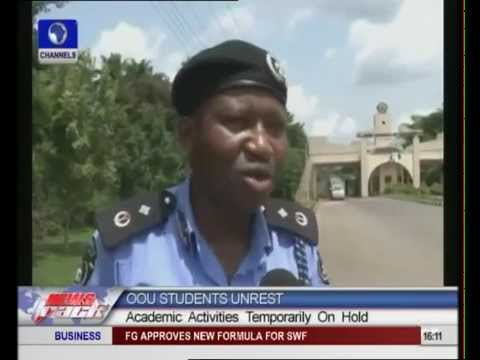 Students unrest in OOU stalls academic activities