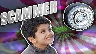 KID SCAMMER GETS SCAMMED 3 TIMES IN A ROW! ROCKET LEAGUE SCAMMING A SCAMMER