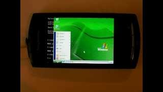 Windows on Android Xperia Neo phone with Qemu