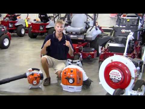 Which STIHL leaf blower is right for you?
