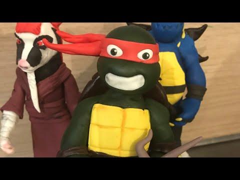 How to make fondant ninja turtles
