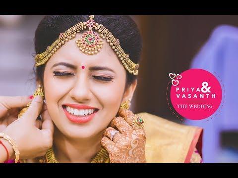 The Cinematic video of Priya & Vasanth