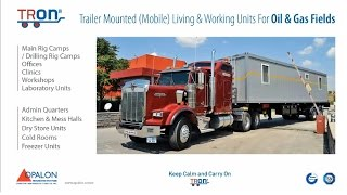 [OPALON Prefabricated Rig Drilling Camp Mobile Container TRON] Video