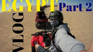 VLOG! Egypt Safari PART_1 Египет! На квадроциклах по пустыне.