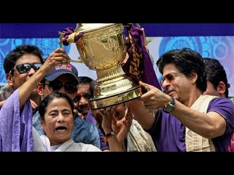 Shahrukh khan And Mamata Banerjee to Celebrate  Knight Riders victory On Kolkata.mp4